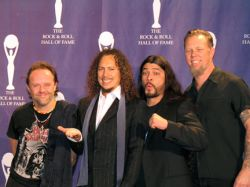 Metallica вошла в Зал славы рок-н-ролла