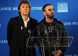 Ринго Старр и Пол Маккартни спели песни The Beatles