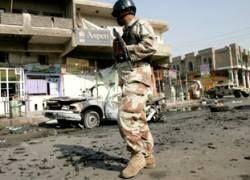 В Багдаде взорваны четыре заминированных машины