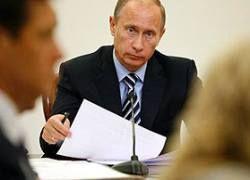 Путин заработал на полмиллиона рублей больше Медведева