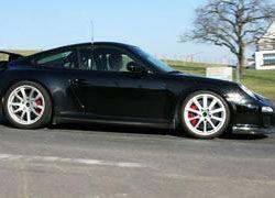 Porsche GT3 RS проходит тесты в Германии