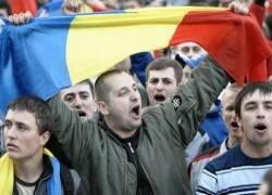 Толпа ворвалась в резиденцию президента Молдавии