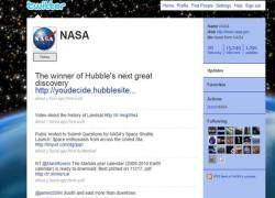 """NASA представит \""""космические\"""" новости на Twitter"""