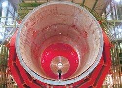 Коллайдер выведут на проектную мощность в 2010 году