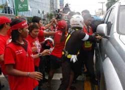 В Бангкоке идут массовые антиправительственные митинги