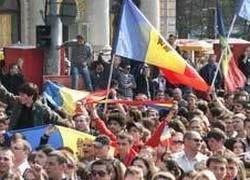 Протестующие в Кишиневе собрали толпу с помощью Twitter