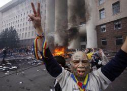 Парламент Молдавии полностью разграблен