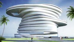"""В Абу-Даби построят \""""зеленую\"""" гостиницу без этажей"""