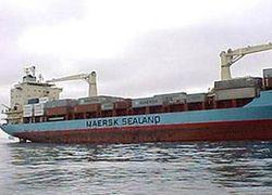 Американцы отбили у сомалийских пиратов контейнеровоз