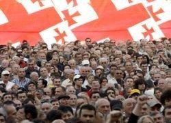 В Грузии начались массовые аресты оппозиционеров