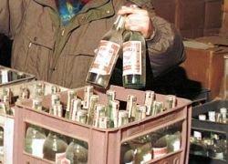 В Киеве продают одну бутылку водки в одни руки