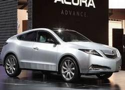Мировая премьера Acura ZDX состоялась
