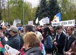 Жители Молдавии сорвали акцию протеста