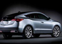 Acura создала внедорожное премиум-купе ZDX