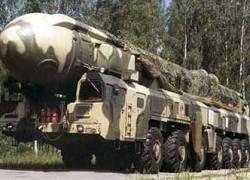 """Российские военные произвели пуск ракеты \""""Тополь\"""""""