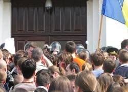 Россия осуждает протесты в Кишиневе, опасаясь волнений