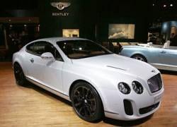 Представлен новый Bentley Сontinental Supersports 2010
