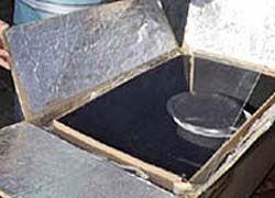 Изобретена экономичная печь на солнечной энергии