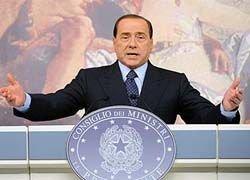 Берлускони предложил кров пострадавшим от землетрясения