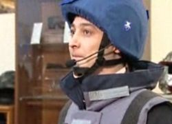 Военных репортеров оденут в бронежилеты