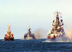 Военные корабли РФ приблизились к границе Грузии