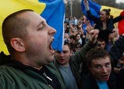 Участники акции протеста собираются в центре Кишинева