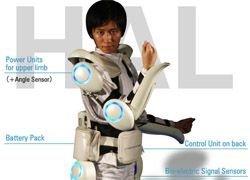 В продажу поступит японский экзоскелет HAL