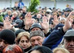 Оппозиция поделилась мусором с мэрией Тбилиси
