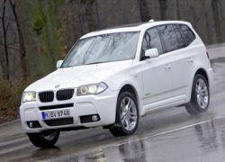 BMW выпускает самый экономичный внедорожник X3