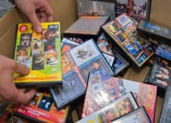 В Подмосковье изъят миллион DVD с новинками кино