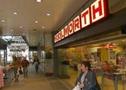 Германская сеть Woolworth объявила о банкротстве