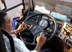 За порядком в Москве будут следить водители автобусов
