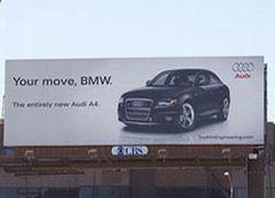 BMW поставила мат Audi в рекламной войне
