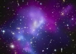 Астрономы разглядели самое гигантское ДТП во Вселенной