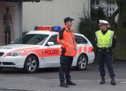 Братья-близнецы дурачат дорожную полицию Швейцарии