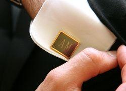 Запонки - эффектный символ мужской элегантности