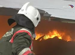 В Ростове-на-Дону сгорело здание УБЭП