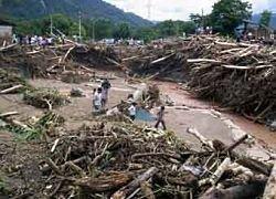 Из-за оползня в Перу пропали без вести 30 человек