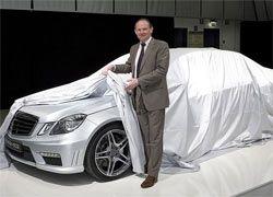 Mercedes представил седан E63 AMG 2010 модельного года