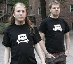 В Швеции начались протесты против суда над Pirate Bay