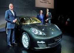 Porsche Panamera дебютировал в Шанхае