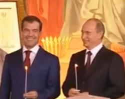 Первый канал: Путин - наш президент!