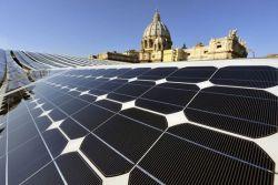 Ватикан переходит на солнечную энергию