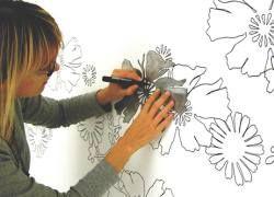 Дизайн дома: весенние идеи оформления стен