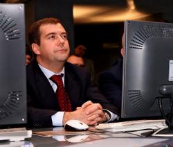 Блог Медведева в ЖЖ заработал