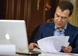 """Медведев стал \""""тысячником\"""" в ЖЖ за шесть часов"""