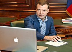 В ЖЖ появились поддельные блоги Медведева