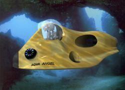 В России изобрели подводный мотоцикл