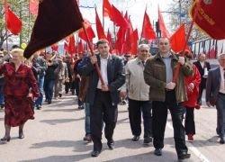 Профсоюзы РФ примкнут к коммунистам на первое мая