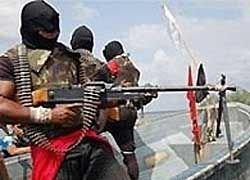 Сомалийские пираты захватили немецкое грузовое судно